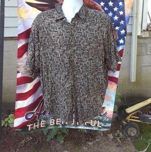 Puritan Button Down shirt Men's Size Large