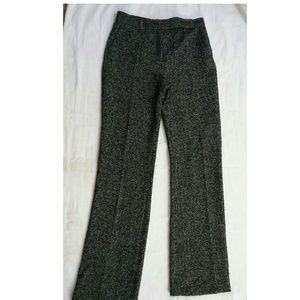 Zara black and white trouser