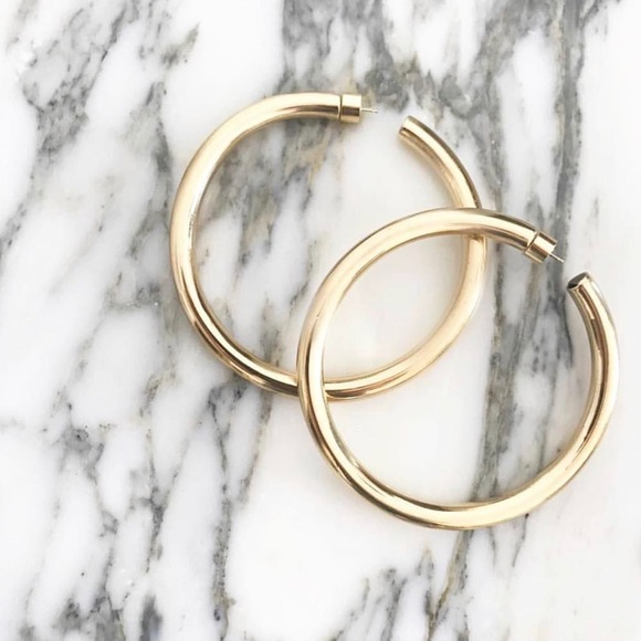 edf4883fe Jennifer Fisher Jewelry | Baby Classic Hoops | Poshmark