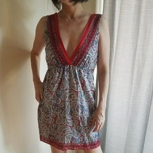 Multiple colored dress