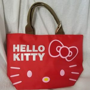 HELLO KITTY *nwot* Red Satchel Hand Bag