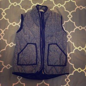 Jackets & Blazers - Houndstooth Vest - Jcrew lookalike!