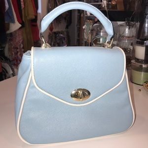 Handbags - Beautiful Baby Blue Bag