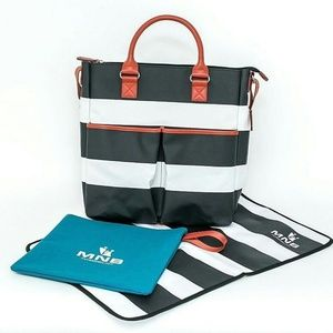 MNB Designer Diaper Bag 100%cotton LIMITED EDITION
