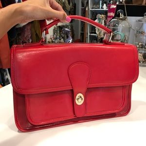 Handbags - Red Handbag