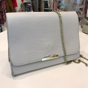 Handbags - Grey Cross-body bag.