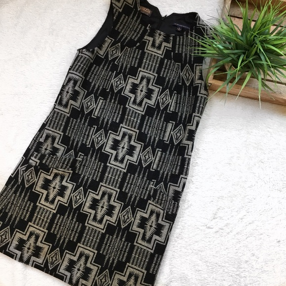 Pendleton Dresses Pendleton The Portland Collection Wool Aztec Dress Poshmark