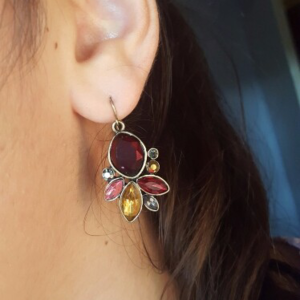 Jewelry - Red Queen Statement Earrings