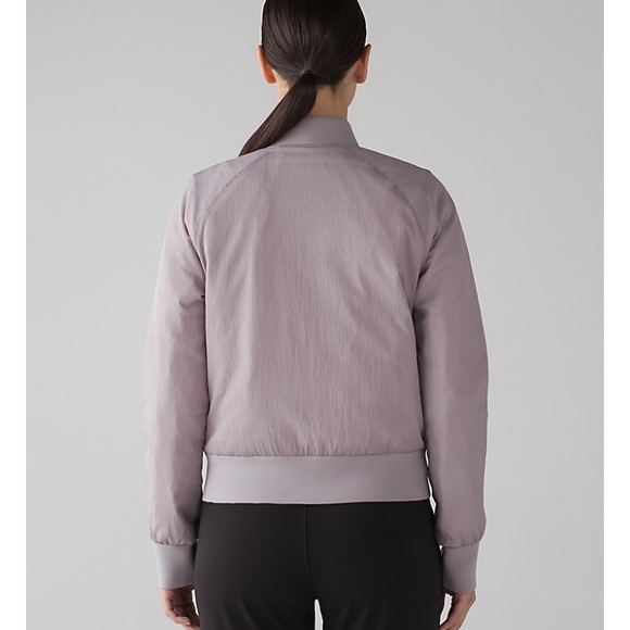 687aa0b38b0 lululemon athletica Jackets & Blazers - Lululemon non stop bomber jacket  reversible