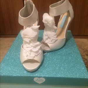 Women\'s White Platform Sandals Wedding on Poshmark
