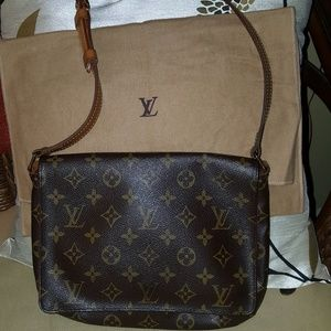 Louis Vuitton Musette Tango Monogram Messenger Bag