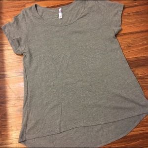 LLR classic T XL grey gray sweater weight lularoe