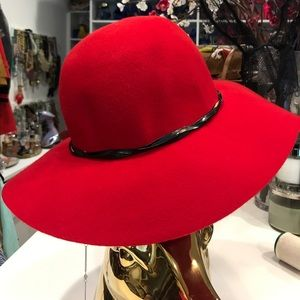 Accessories - Red Wool Hat