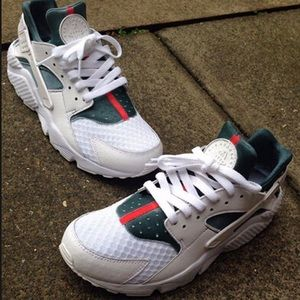 custom huarache sneakers