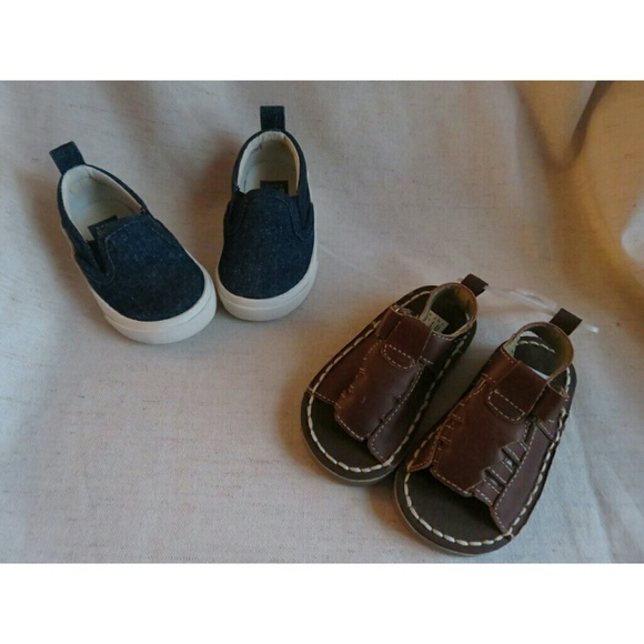 off GAP Other NWT GAP Baby Boy Shoes Size 4 Sandals
