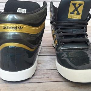 5071efdc7c550 adidas Shoes - Adidas Originals X High Top Men Shoes Black   Gold