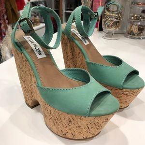 Steve Madden Sea Foam Green Shoes