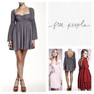 🆕Free People Victorian Duchess Mini Dress.  NWOT.