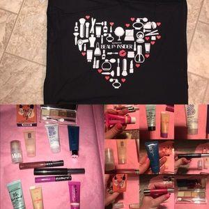 Sephora Makeup skin care Bundle  and bag all nwt