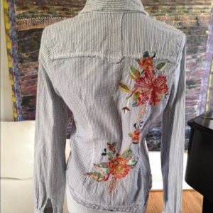 Tops - Embroidered Western Shirt