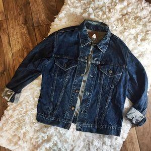 Vintage Levi's 90's Distressed Jean Denim Jacket