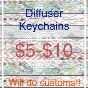 Accessories - Diffuser Keychains-Homemade