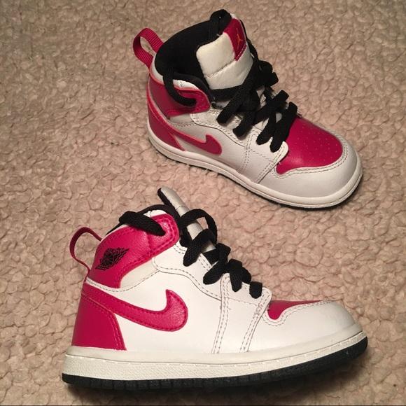 Toddler girl Nike Jordan's