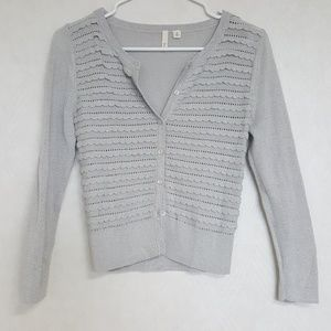 Nordstrom scallop sweater