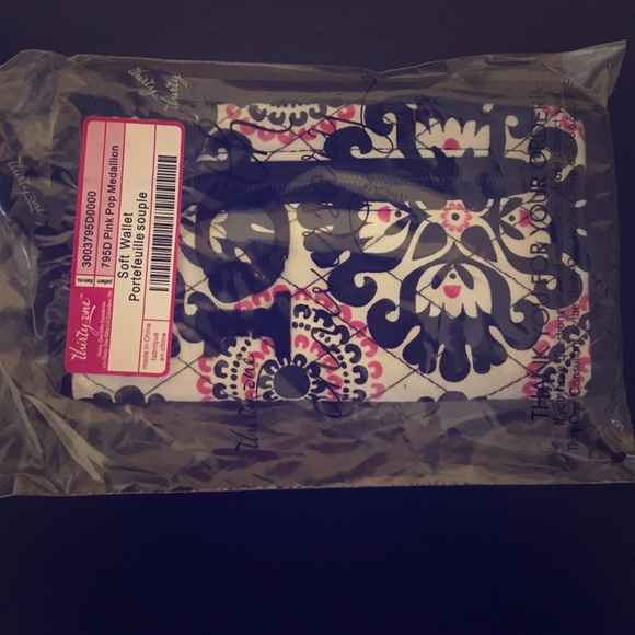 Thirty One Bags New Thirtyone Soft Wallet In Pink Pop