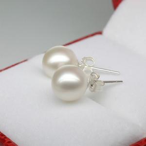 Jewelry - White Pearl Stud Earrings