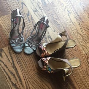 Charlotte Russe and Gianni Bini Both Size 8.5