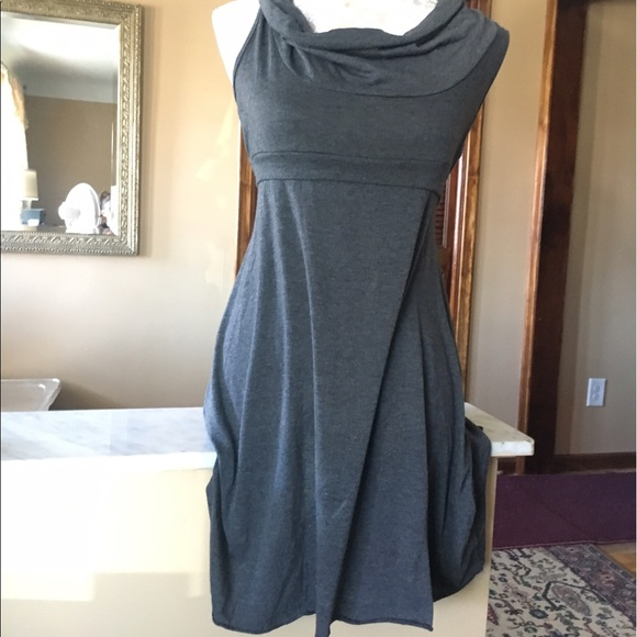 American Rag Dresses & Skirts - American Rag, gray scoop neck dress Large