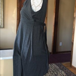 American Rag Dresses - American Rag, gray scoop neck dress Large