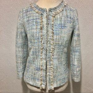 ⚫️ Cynthia Rowley tweed blazer