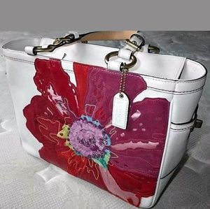 Coach Poppies for Peace rare (Vintage) Tote