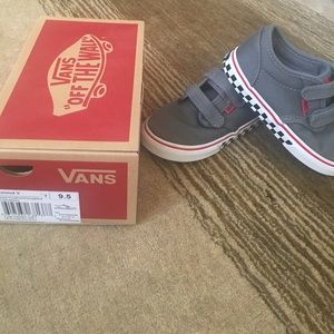 Other - Vans Atwood Velcro toddler 9.5 shoes