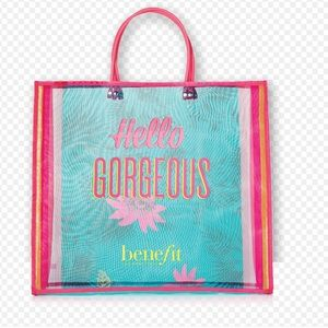 🆕Benefit 'Hello Gorgeous' Tote Brand New!