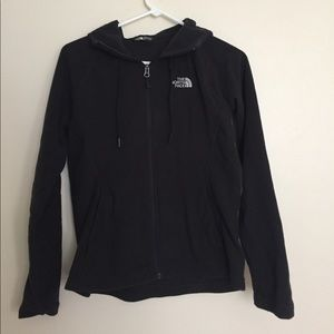 Black North Face hoodie
