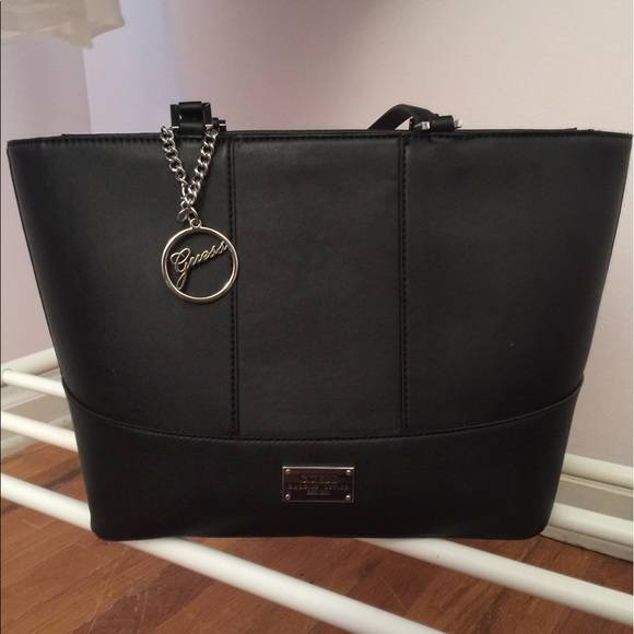 GUESS BLACK PURSE 530d144e83549