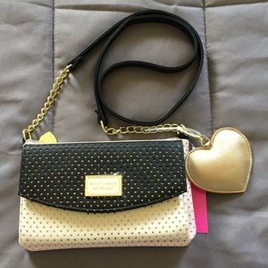 Betsey Johnson Trifold Wallet on a String - Multi
