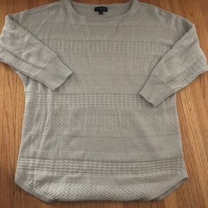 Grey sweater from the Limited