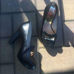MK leather heels!