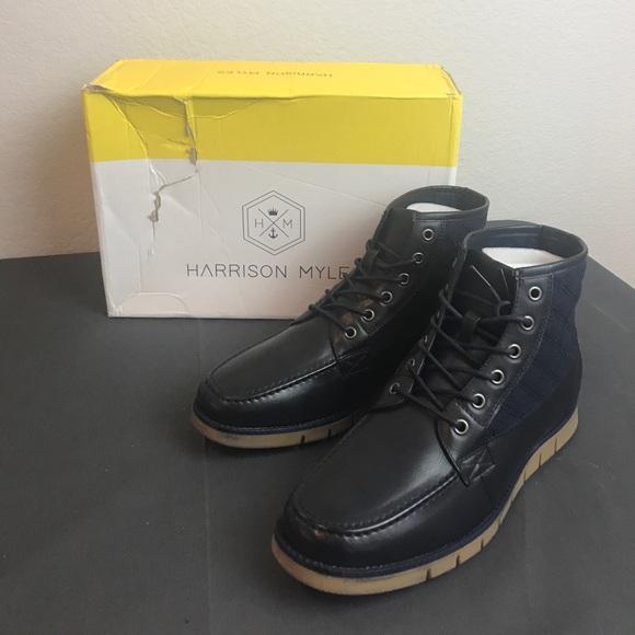 1aa0281f0c5f Harrison Myles Lace Up Boots