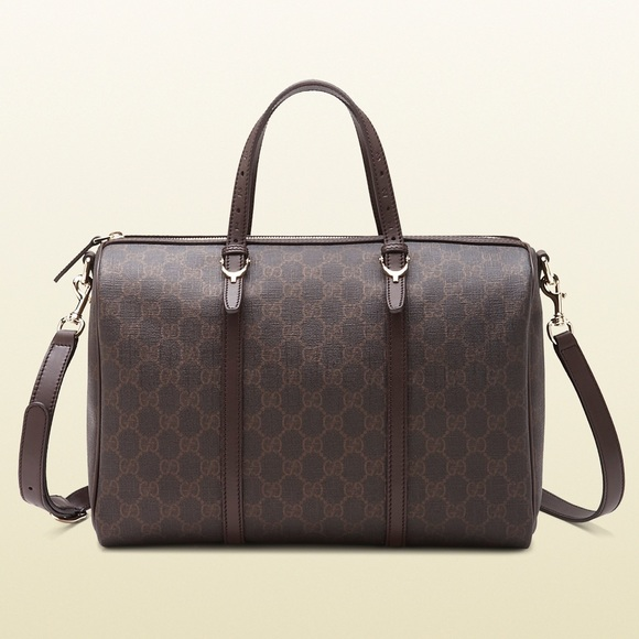 9c125ac2cba7c8 Gucci Bags | Nice Gg Supreme Canvas Boston Bag | Poshmark