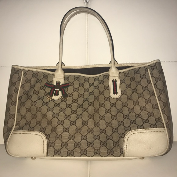 e84327a0cf7b Vintage Gucci Monogram Tote Bag | Stanford Center for Opportunity ...