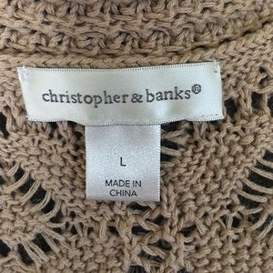 Christopher & Banks Sweaters - Loose knit sweater
