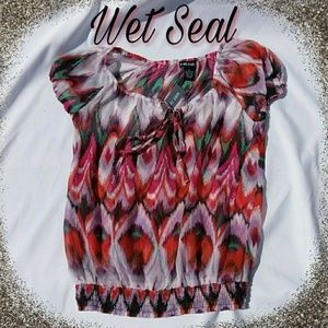 Wet Seal -sheer blouse.NWT