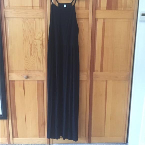 Old Navy Plus Size Maxi Dress Black XXL