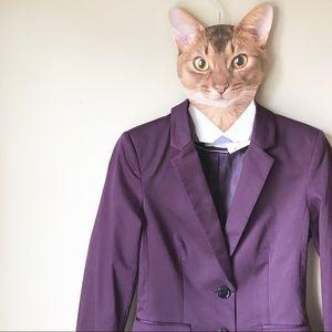 H&M brand new purple blazer