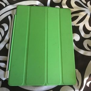 Accessories - Apple IPad case lime green barely used